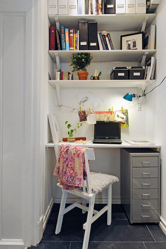 Best DIY simple home office furniture ideas for small office space