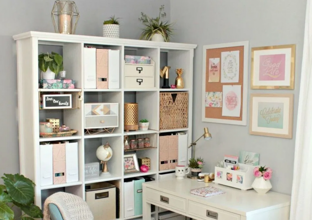 Easy and Cheap home office diy organization ideas