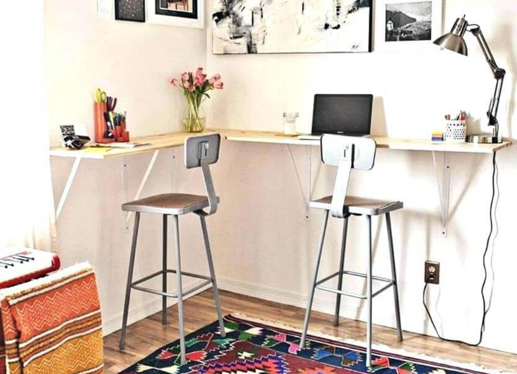 home office diy desk ideas for small spaces