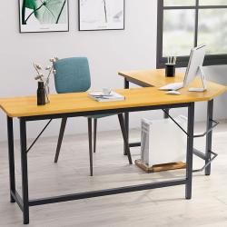 Home Office Diy Furniture L Shaped Corner Laptop Computer CPU Stand