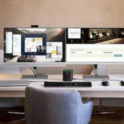 Home Office Dual Monitor Best Setup Ideas