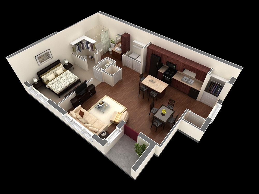 1 bedroom apartments lightandwiregallery awesome one bedroom design