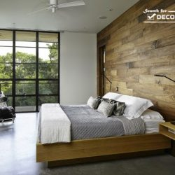 20 Bedroom Designs With Wood Amusing Wooden Wall Paneling Designs