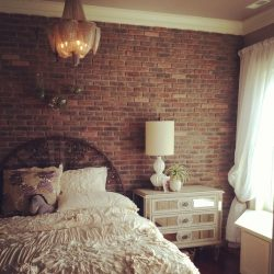 20 Breathtaking Rooms With Exposed Brick Brit Co 20 Modern Unique Brick Wallpaper Bedroom Ideas