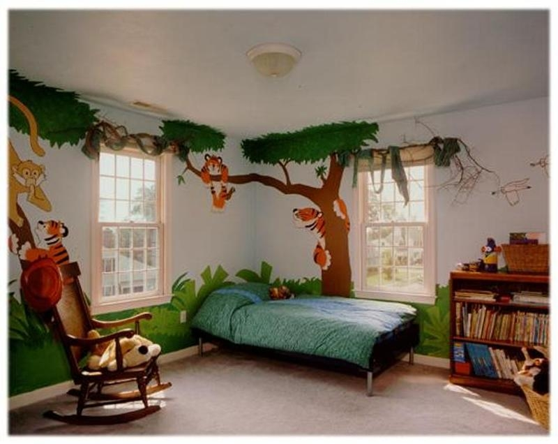 20 Jungle Themed Bedroom For Kids Rilane Best Childrens Bedroom Interior Design Ideas