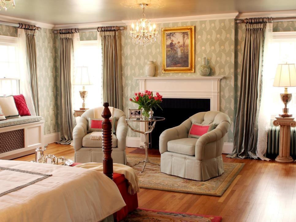7 Beautiful Window Treatments For Bedrooms Hgtv Impressive Bedroom Curtain Design Ideas