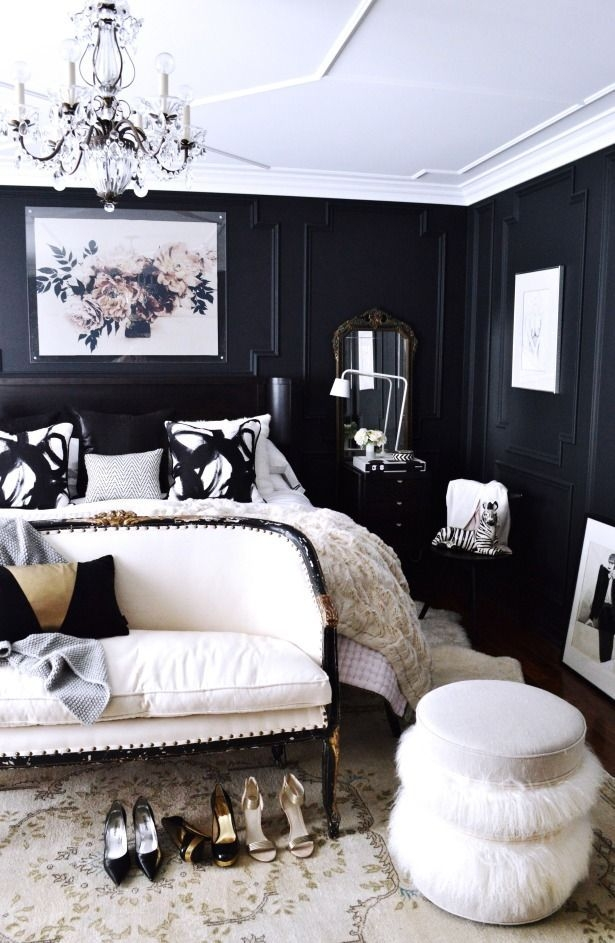 Best Ideas About Black White Bedrooms On Pinterest Black New Black And White Interior Design Bedroom