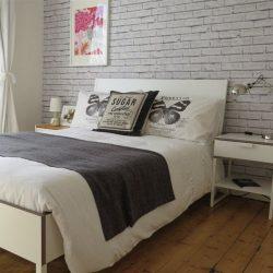 Best Ideas About Brick Wallpaper Bedroom On Pinterest Brick Unique Brick Wallpaper Bedroom Ideas