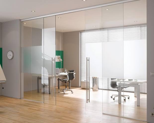 Glass Home Office Doors Interior Decor