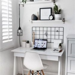 Home Office Decorating Ideas Small Spaces Minimalist