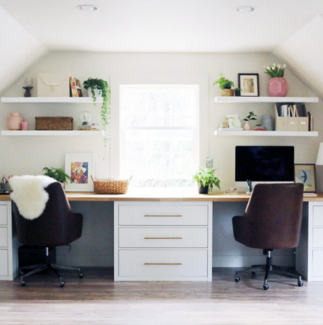 Home Office Desk Hacks Ikea