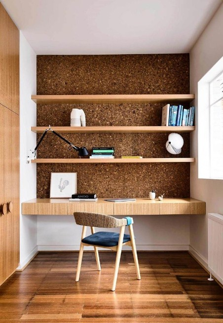 home office feature wall ideas