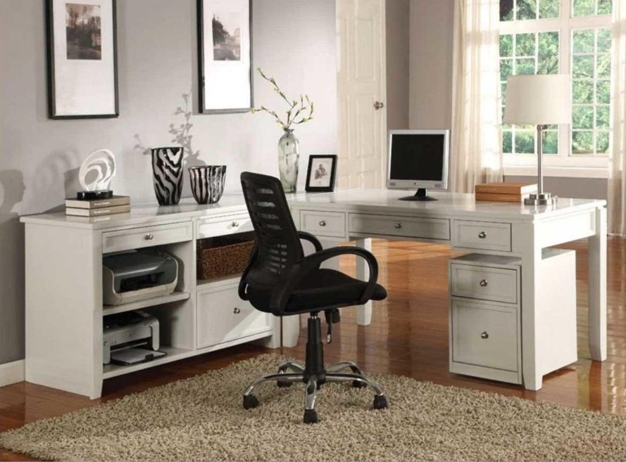 Home Office Furniture Collections White