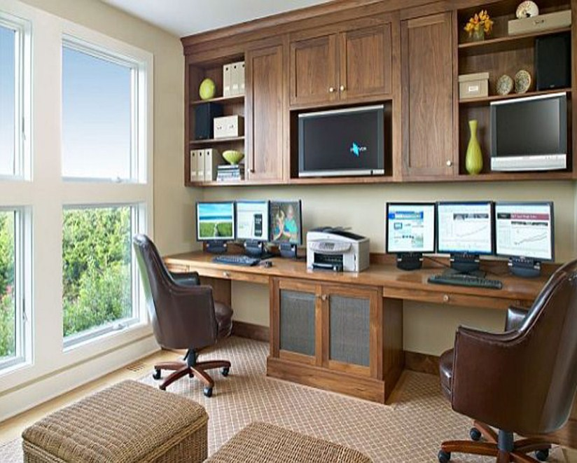home office furniture design layout