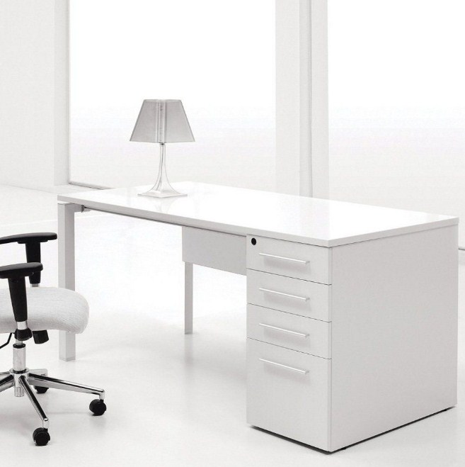 Home Office Furniture In White