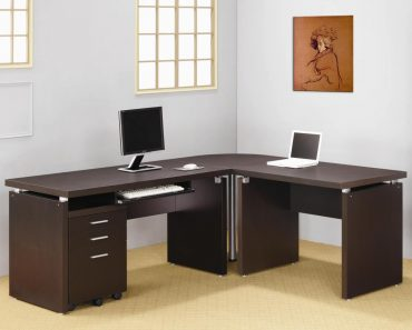 Home Office Furniture L Shaped Desk