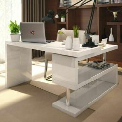 Home Office Furniture White Gloss