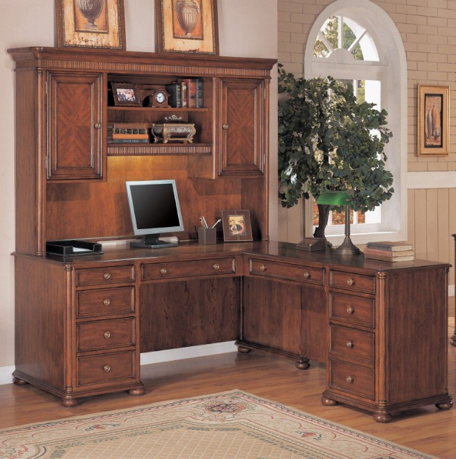 Home Office Hutch Furniture Best L Shaped