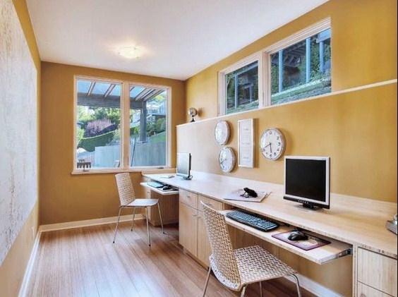 home office ideas basement design