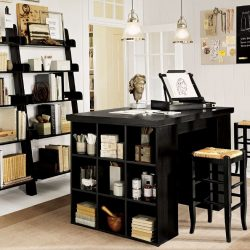 Home Office Ideas Black Furniture