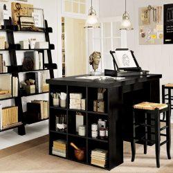 Home Office Ideas Black Furniture