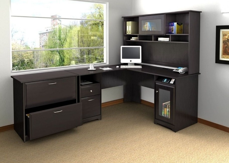 home office ideas corner desk awesome shelf designs