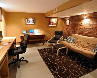 Home Office Ideas For Basement Another Cool Concept