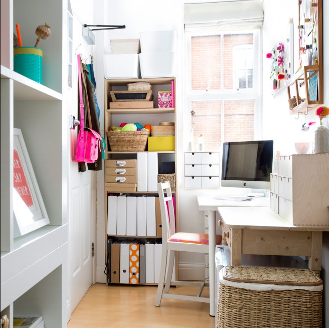 home office ideas for small room idea with storage