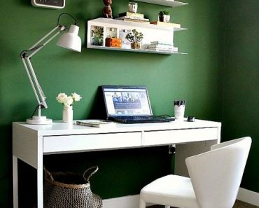 Home Office Ideas Green Contemporary You Are Looking For