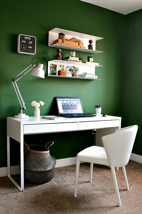 Home Office Ideas Green Contemporary You Are Looking For Jpeg