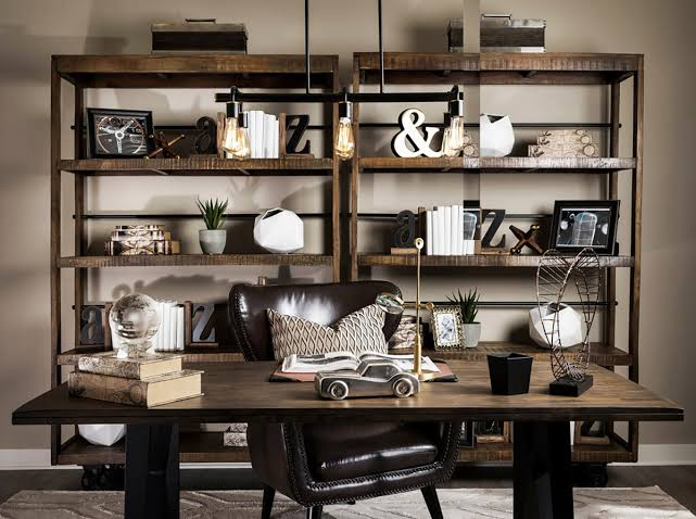 Home Office Ideas Industrial Style That Sport Beautiful