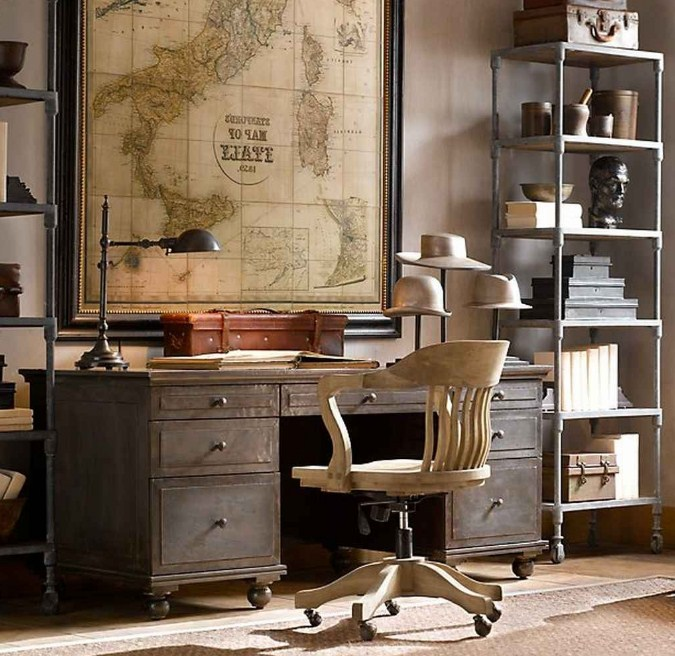 Home Office Ideas Vintage Furniture Best Decor Things With Fall Door