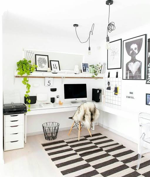 Home Office Ideas With Ikea Furniture Filled Jpeg