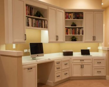 Home Office Ideas With Kitchen Cabinets Perguero