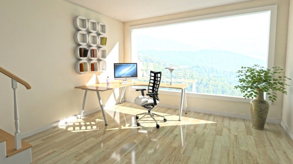 home office images for zoom virtual backgrounds space