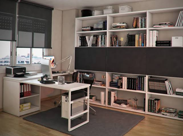 Home Office Interior Design Ideas Modern Jpeg