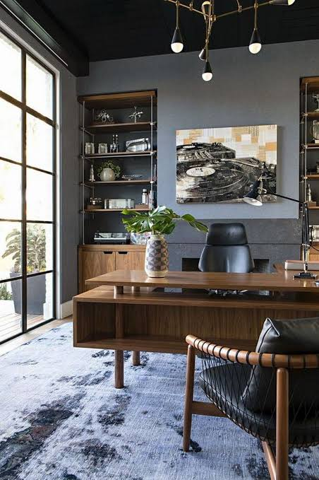 Home Office Interior Inspiration Incredible For Men