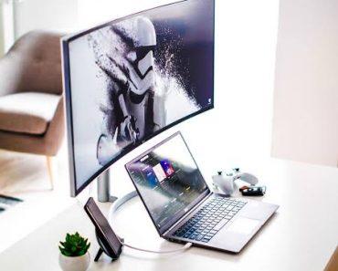 Home Office Laptop Setup Eye Popping Ideas
