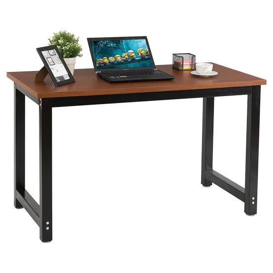 Home Office Laptop Table Chefjoy Wood Workstation Jpeg