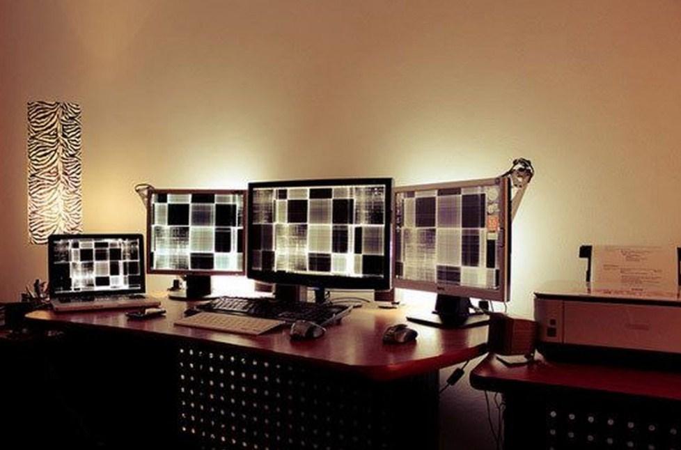 home office lighting setup perfect