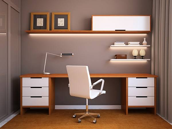 Home Office Room Interior Design Minimalist Ideas For A Trendy Working Space Jpeg