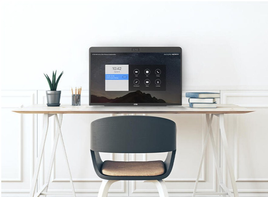 home office setup for zoom for Home to enhance remote collaboration learning and more