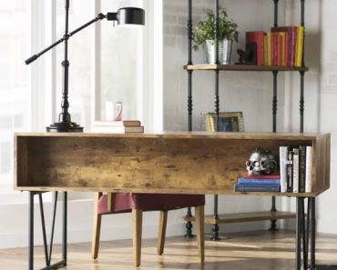 Home Office Table Lamp Industrial Workspace