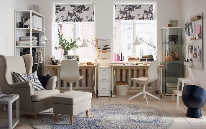 Ikea Home Office Ideas For Two Jpeg