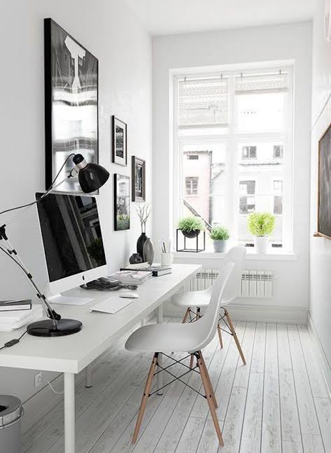 Image Of Home Office Interior Cool And Stylish Small Jpeg