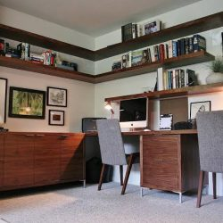 Mid Century Home Office Interior Design Ideas Inspirations Essential Jpeg