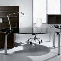 Modern Home Office Glass Desk For The Most Creative