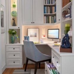 Narrow Home Office Ideas Small