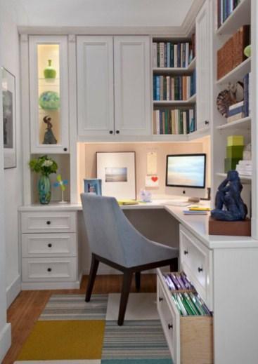 narrow home office ideas small