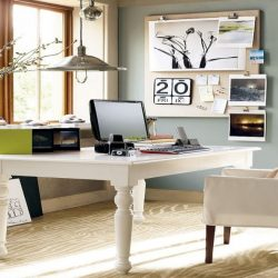 Vintage Home Office Design Ideas Decor Style White Design Work Decorating